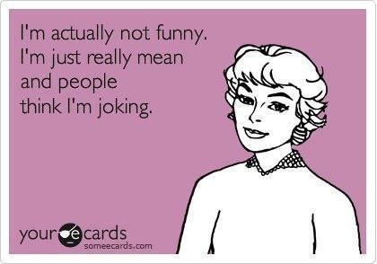 It's True...Sometimes
