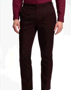 Topman Skinny Cotton Trousers