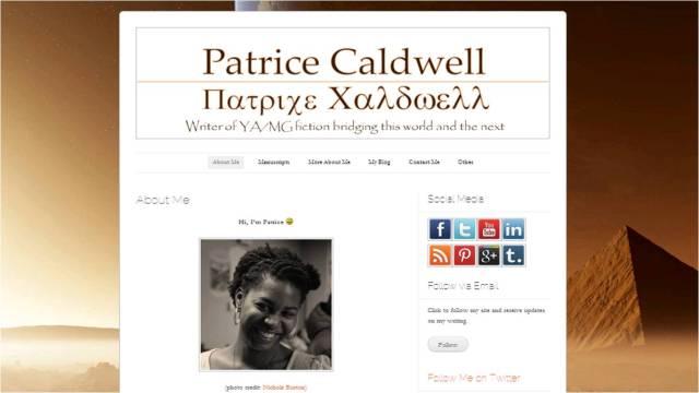 patrice blog design