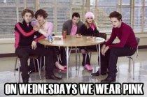 wear pink twilight