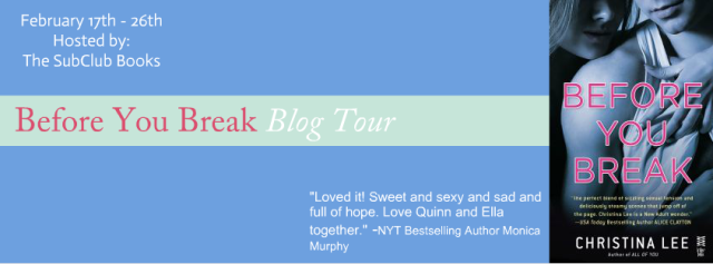 blog tour before you break