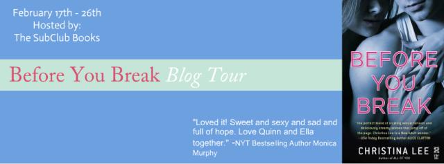 blog tour before you break